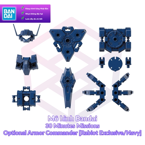 Bandai 30MM Optional Armor for Commander [Rabiot Exclusive/Navy]