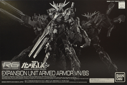P-Bandai PG Banshee Expansion Unit Armed Armor VN/BS