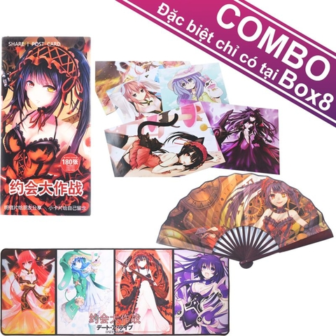 Bộ Combo 4 SP bộ Date A Live [CB]