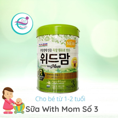 Sữa bột With Mom số 3 (12-36 tháng)