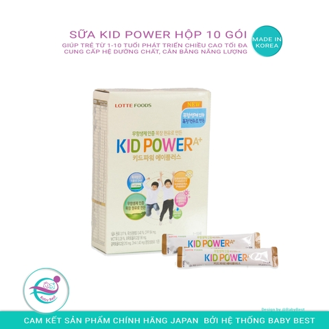 SỮA HỘP KID POWER