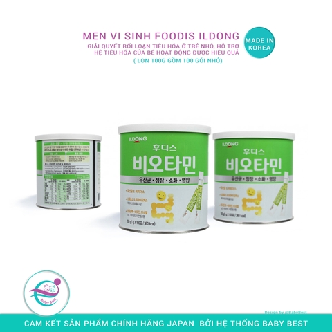 Men vi sinh Foodis Ildong 100g