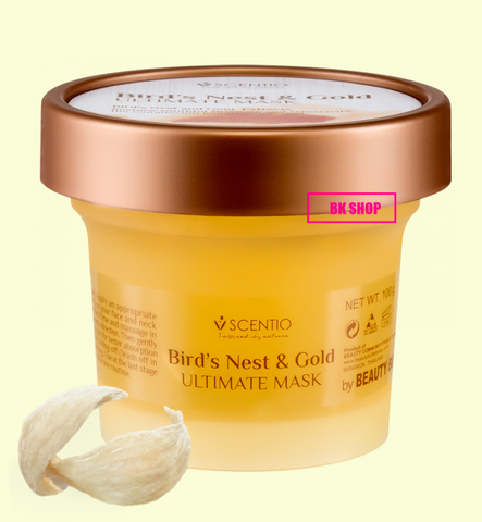 SCENTIO BIRD'S NEST AND GOLD ULTIMATE MASK