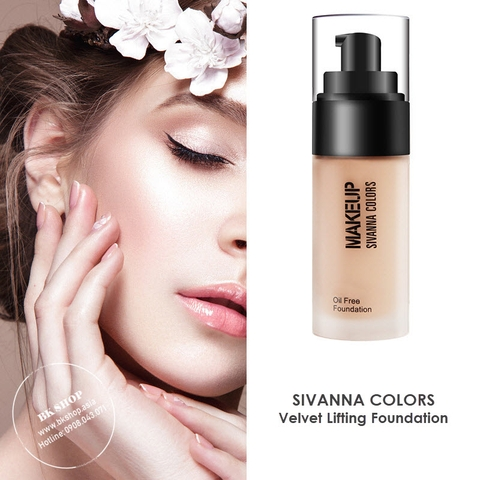 Kem Nền Kiềm Dầu Sivanna Colors Velvet Lifting Foundation HF556