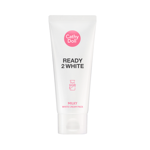 Mặt nạ ủ trắng da Cathy Doll Ready 2 White Milky White Cream Pack [Mới]