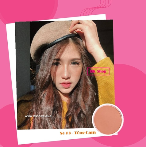 Phấn má hồng Mistine Alice color Puffy Blush