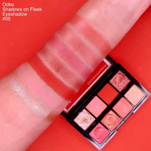 Phấn mắt 8 Ô Odbo Shadows On Fleek Eyeshadow OD278