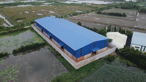 Thi công nhà xưởng công nghiệp rộng 15000m3 tại Hải Dương