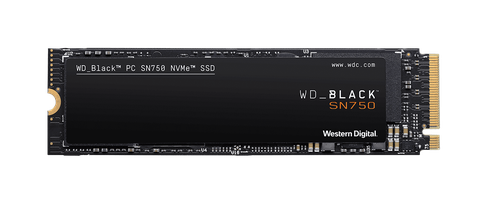 WD_Black SN750 2TB NVMe Internal Gaming SSD - Gen3 PCIe, M.2 2280