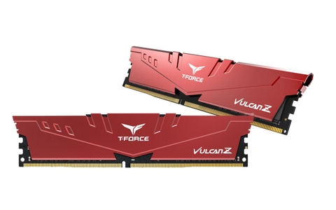 TEAMGROUP T-Force Vulcan Z DDR4 64GB Kit (2 x 32GB) 3200MHz