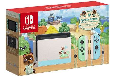 Máy Nintendo Switch Animal Crossing Limited Edition