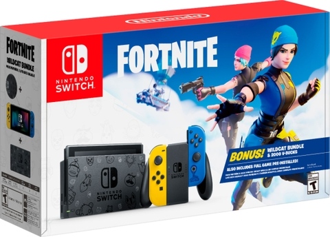 Máy Nintendo Switch Fortnite Wildcat Limited Edition