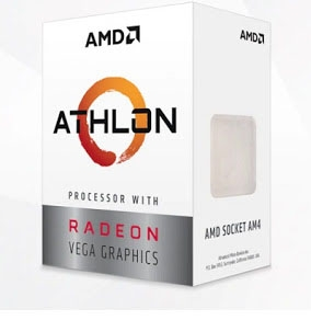 AMD Athlon™ 3000G 3.5GHz 2C/4T AM4