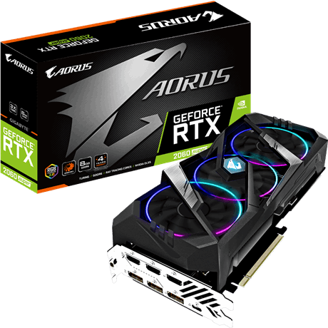 Gigabyte AORUS GeForce RTX 2060 SUPER 8G