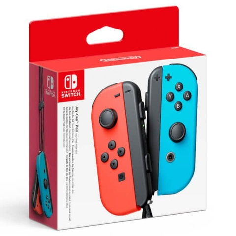 Bộ 2 tay cầm joy - con controllers [neon red/neon blue set] - Nintendo Switch