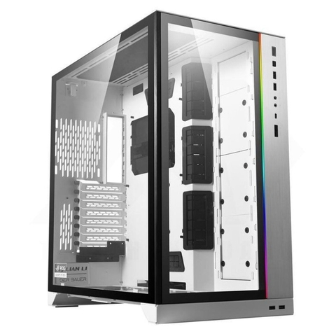 Case LIAN-LI O11 Dynamic XL ROG Certified - White