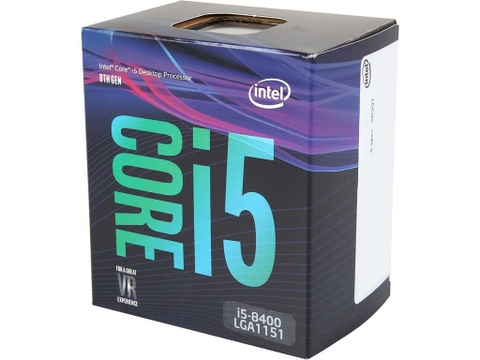 Intel I5 8400 2.8GHz (4.0GHz Turbo) 6C/6T 1151