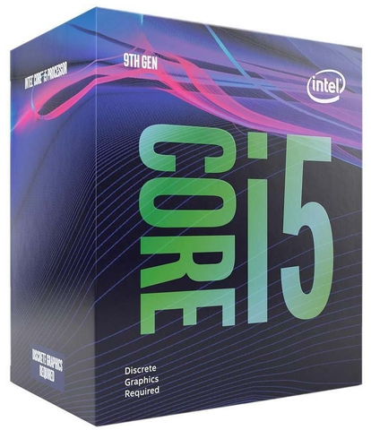 Intel I5 9400F 2.9GHz (4.1GHz Turbo) 6C/6T 1151