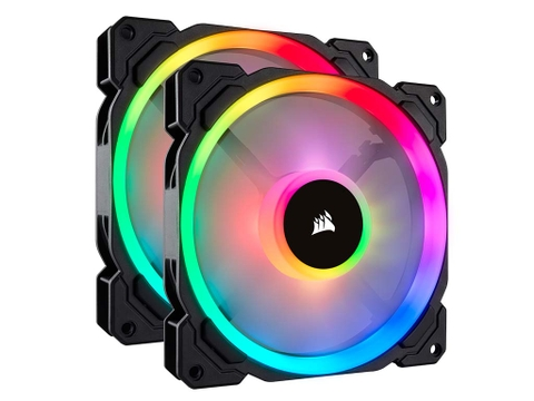 Fan Corsair LL140 RGB 140mm Dual Light Loop RGB LED PWM Fan - 2 Fan