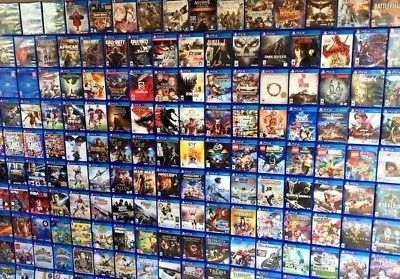List đĩa game đổi Playstation 4