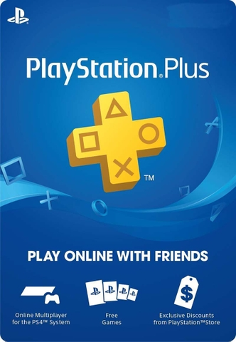 Playstation Plus 03 tháng Hong Kong
