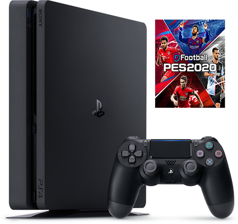 Playstation 4 Slim 1TB + eFootball Pro Evolution Soccer 2020 ( Digital Dowload )