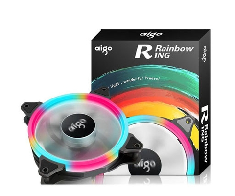 AIGO RING RAINBOW LED