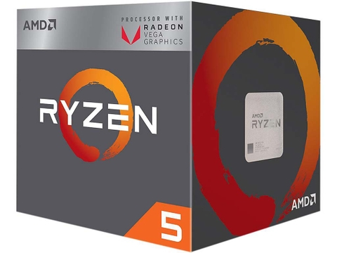 AMD RYZEN 5 2400G 3.6GHz (3.9GHz Turbo) 4C/8T AM4