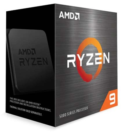 AMD RYZEN 9 5900X 70MB, 3.7GHZ UPTO 4.8GHZ CORE 12/24 (SOCKET AM4)