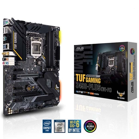 Mainboard Asus TUF GAMING Z490-PLUS (WI-FI)
