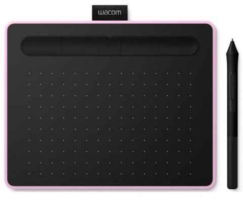 Wacom Intuos S with Bluetooth CTL-4100WL Berry (Tím Hồng)