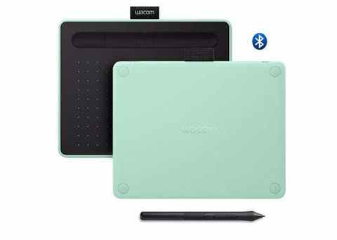 Wacom Intuos S with Bluetooth CTL-4100WL Pistachio (Xanh)