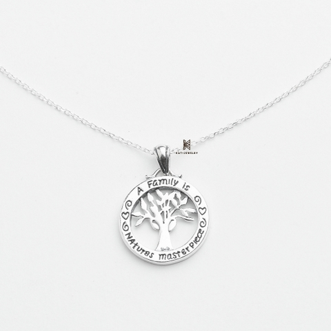 P STAMP A FAMILY IS NATURES MASTER PIECE TREE OF LIFE (giá chưa kèm dây)
