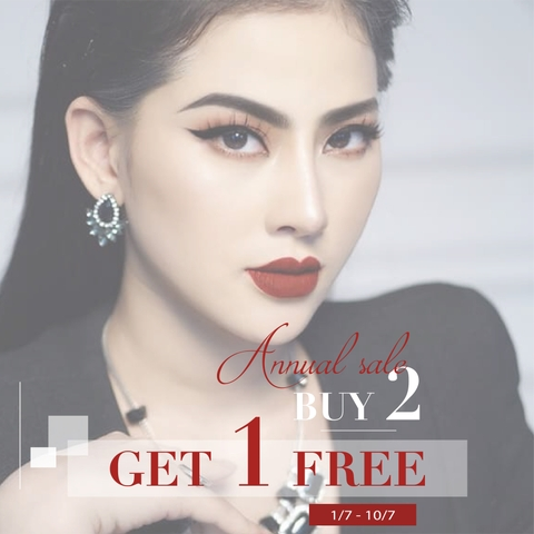 ANNUAL SALE - BUY 2 GET 1 FREE + VOUCHER 100K