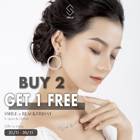 BLACK FRIDAY - Mua 2 Tặng 1