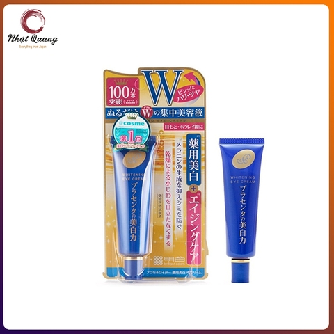 Kem dưỡng mắt Meishoku PlaceWhiter Medicated Whitening Eye Cream 30g