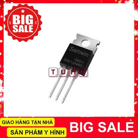 12N60 TO220 MOSFET N-CH 12A 600V
