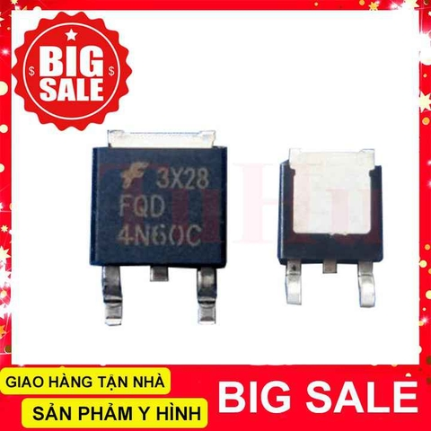 4N60 MOSFET N-CH 600V 2.6A TO252