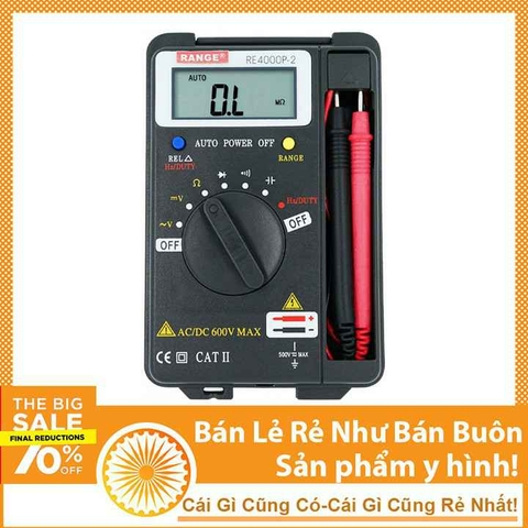 Đồng Hồ Digital Multimeter NOBLE