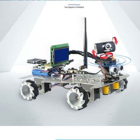 Ô tô robot mô hình WiFi Bluetooth Video Smart Car Robot Master Robot