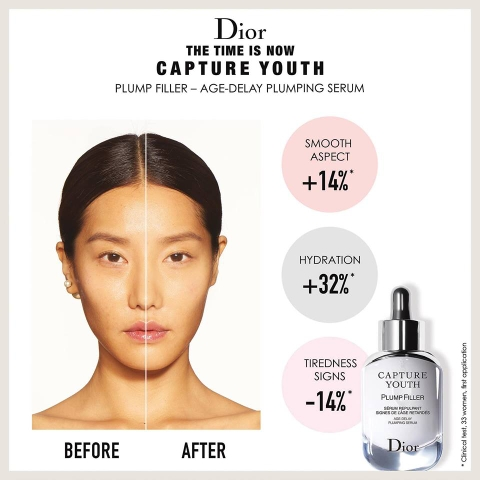 Tinh Chất Dưỡng Ẩm Dior Capture Youth Plump Filler Age-Defying Plumping Serum.