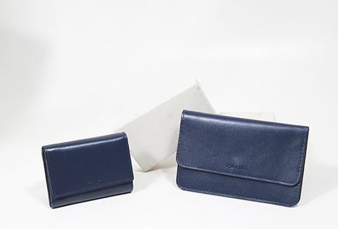 Couple Ví The Momo2 & Heart3 Wallet Navy