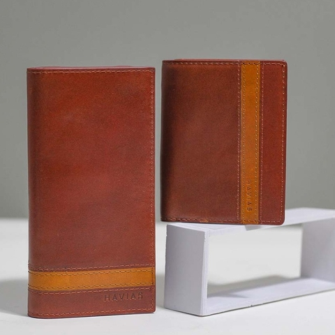 Couple Ví Heyday2 & Verzip2 Handcrafted Wallet