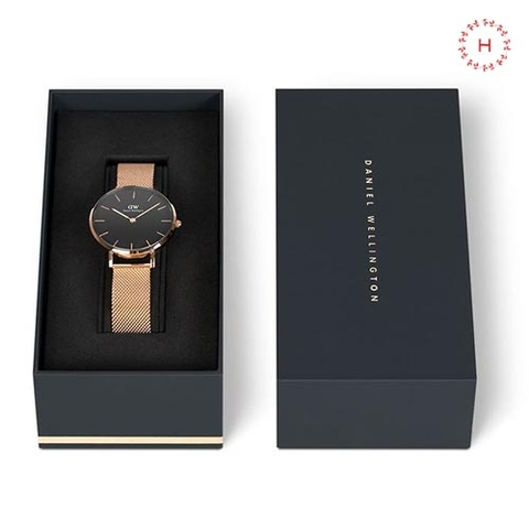 Daniel Wellington ST Maves vs Petite Melrose Black Couple 40mm/32mm