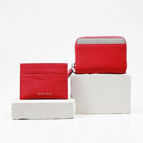 Couple Ví Mini Versa & Mini Pie Red