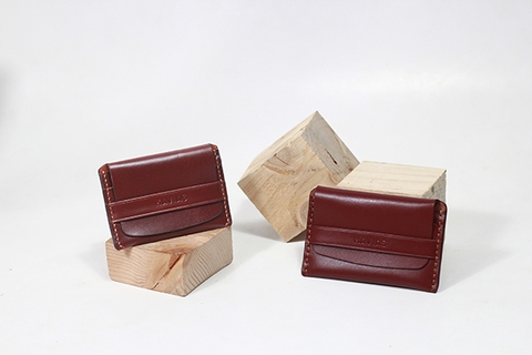 Couple Ví Smile & Smile8 Wallet Red