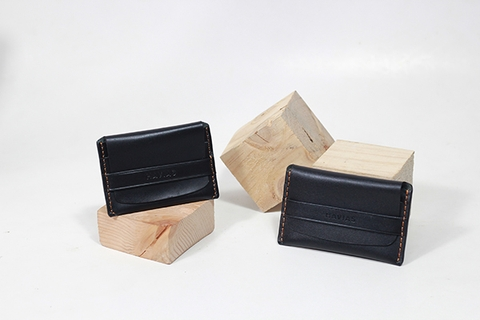 Couple Ví Smile & Smile8 Wallet Black
