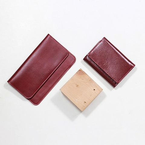 Couple Ví The Momo2 & Heart3 Wallet Đỏ