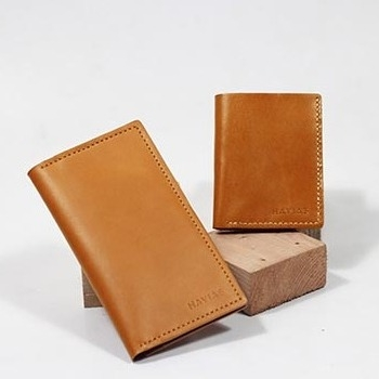 Couple Ví Venuta2 & Venumi Handcrafted Wallet Yellow Buff