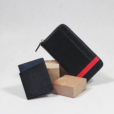 Couple Ví The Viva & Seashell Wallet Black